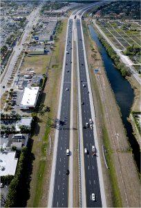 Turnpike -Kendall Overpass to Miller Overpass